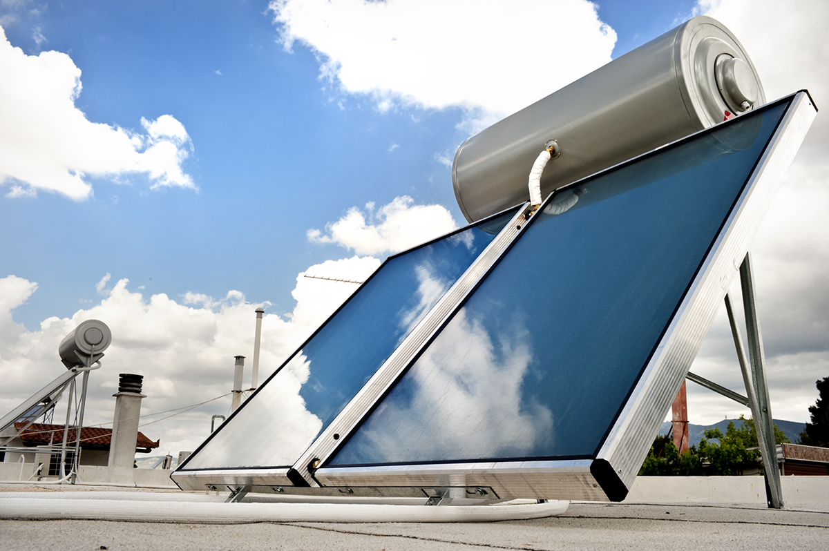 solar water heater oahu on roof